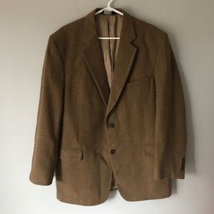 "JOS A BANK ""GORDON""  Gold camel hair sport coat"